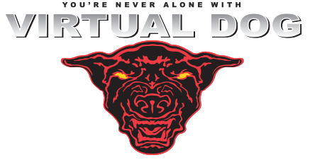 Virtual Dog Logo